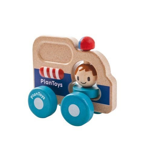 Plan Toys Rescue Car Mini Vehicle