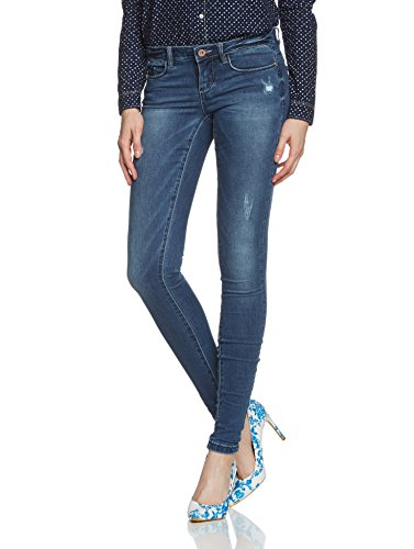 ONLY - Jeans, Donna, Blu (Blau (Medium Blue Denim Medium Blue Denim)), 40/42 IT (27W/32L)