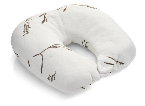 Bamboo Covered Travel Neck Pillow front-392845