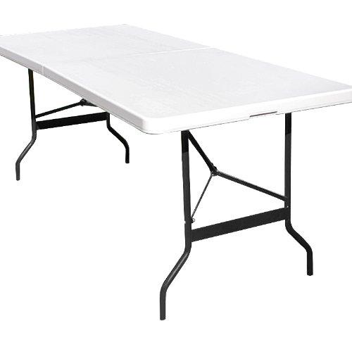 Tisch Klappbar Kunststoff.Tisch Klappbar Kunststoff Wei 74x180 Cm Partytisch