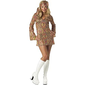 Disco Dolly Costume - Small - Dress Size 6-8