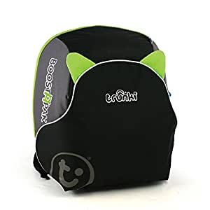 Trunki BoostApak Travel Backpack Booster Car Seat (Green)