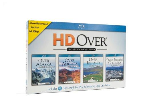 Topics Entertainment HD Over Blu-ray 4-pack: Alaska, America, Ireland, and British Columbia