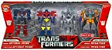 Transformers Legends 4 Pack - Movie Optimus Prime, Megatron & Cybertron Optimus Prime & Megatron