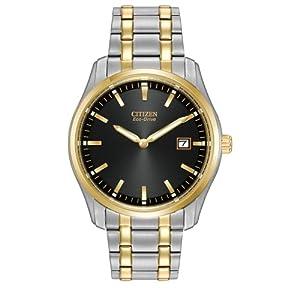 Citizen Men's AU1044-58E Bracelet Analog Display Japanese Quartz Two Tone Watch