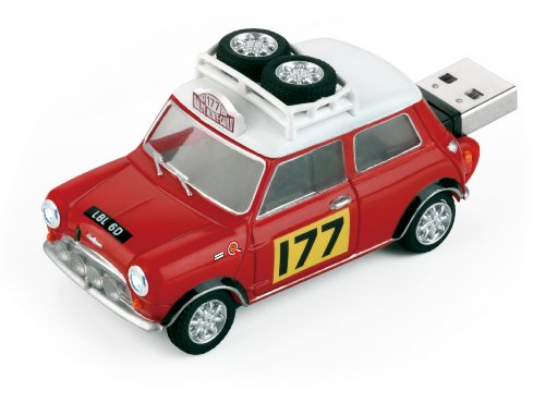 4GB USB Mini Cooper Rally Edition