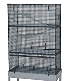 dahak International Ltd Cage pour chinchilla/rat/furet 3étages