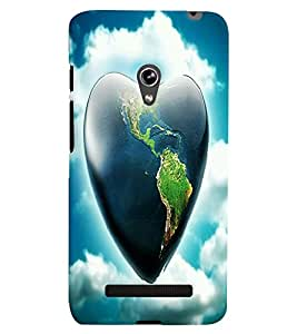 GADGET LOOKS PRINTED BACK COVER FOR Asus Zenfone 5 MULTICOLOR