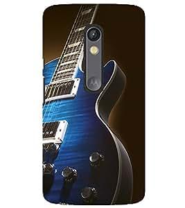 Evaluze guitar Printed Back Case Cover for MOTOROLA MOTO X PLAY