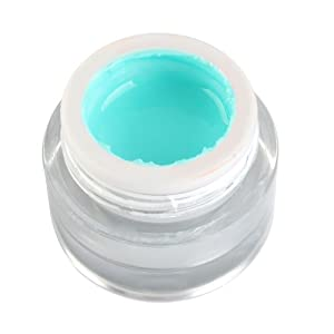 1pcs luxury a soak off 3d painting glitters uv gel for nail art tips
