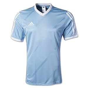 Amazon.com : adidas Tabela 14 Replica Soccer Jersey Sky Blue/White YM