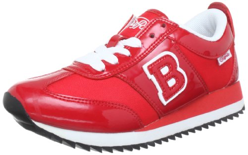Buffalo 5451-161 PATENT NYLON Low Womens Red Rot (MARLBORO 05) Size: 5 (38 EU)