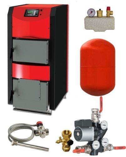 Bollitore carburante ThermoFlux ELVIN Attivo 25 kW con Pacchetto di connessione