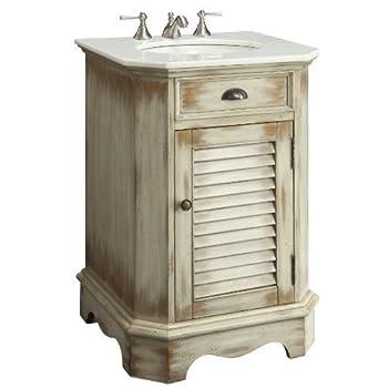 "24"" Cottage look Junior Abbeville Bathroom Sink vanity Model CF47523A"