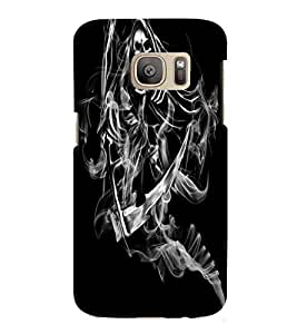 Samsung Galaxy S7 MULTICOLOR PRINTED BACK COVER FROM GADGET LOOKS
