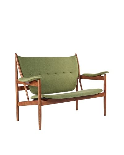 Stilnovo The Sterling 2-Seat Lounge Chair, Green