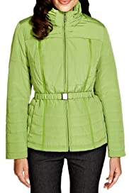 Per Una Padded & Belted Jacket with Stormwear [T62-4000J-S]