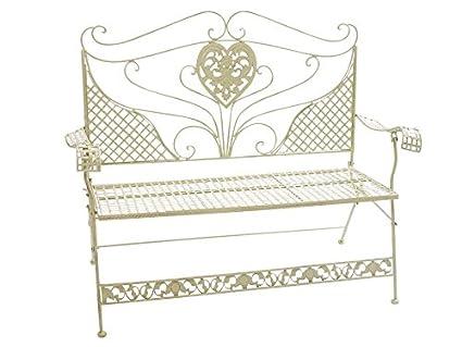 Banco de jardín hierro antiguo estilo de la nostalgia muebles de