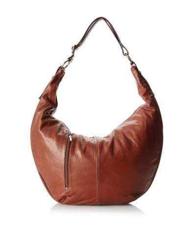 Merci Marie Women's Tazia Large Shoulder Bag, Tobacco