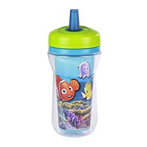 Amazon.com : The First Years Insulated Straw Cup - Finding Nemo - 9 oz