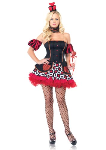 Queen of Hearts Alice in Wonderland Sexy Costume 83516