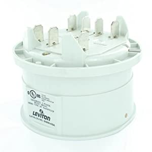Leviton 50208-ASA 120/208 Volt 3PY 200 Amp Secondary Surge Arrestor Protective Device 7 Jaw Socket Meter