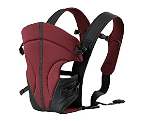 Babyhelp Breathable Cotton lining Soft Carrier(Red) by Babyhelp