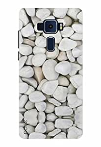 Noise Designer Printed Case / Cover for ASUS ZENFONE 3 ZE520KL 5.2 Inch screen size / Patterns & Ethnic / Stone Design
