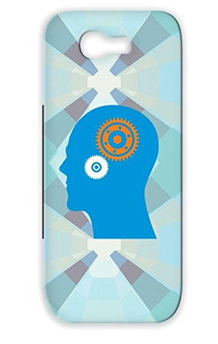 Anti-scratch Thinking Gear Head Geek Think Gears Miscellaneous Brain Thinker For Sumsang Galaxy Note 2 Black Case Cover