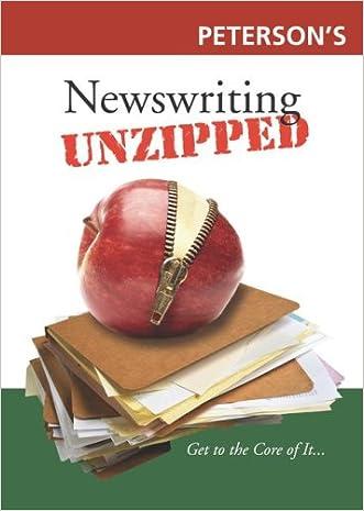 Newswriting Unzipped (Unzipped Guides)