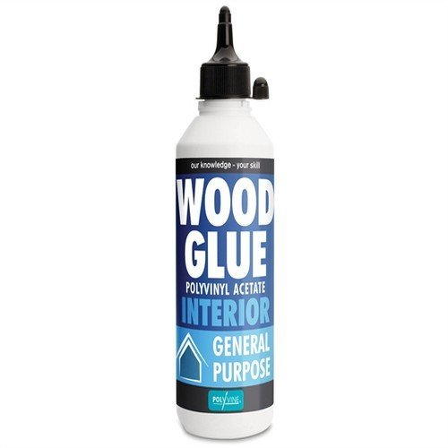 Polyvine Interior Paintable Stainable Wood Glue 125ml 4 2