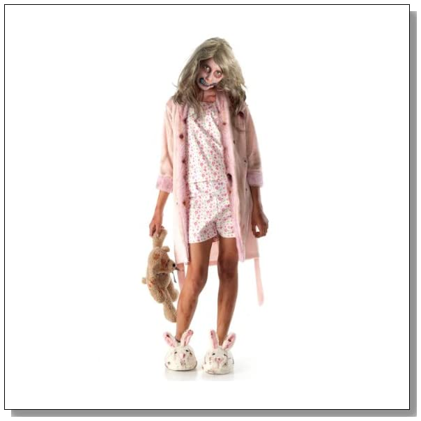 Walking Dead TV Show Little Girl Zombie Costume,Large 12-14