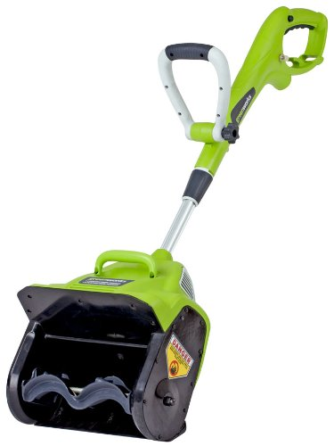 "Cheapest Prices! GreenWorks 26012 8 Amp 12"" Corded Snow Thrower"