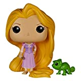 Funko POP Disney Tangled: Rapunzel & Pascal (Color: Black, Tamaño: One Size)