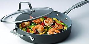 Bialetti Ceramic Pro Hard Anodized Nonstick Sauce Pan