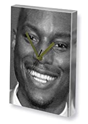 TYRESE GIBSON - Canvas Clock (LARGE A3 - Signed by the Artist) #js002