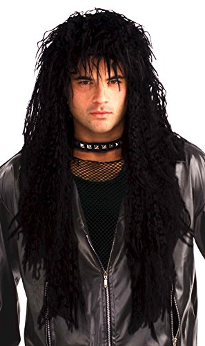Top Quality Men's Eighties Hard Rocker Dude Wig by Forum Novelties.