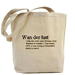 Wanderlust Defined Tote bag Tote Bag by CafePress