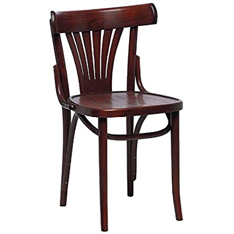 Sillas de madera curvada Sidechairs nogal y haya