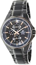 Casio Edifice Mens Sports Watch Ef339bk-1a9v Black