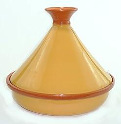 Le Souk Ceramique Cookable Tagine, Yellow Mustard