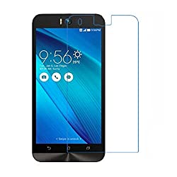 iKraft Premium 9H 0.3mm Tempered Glass with Curved Edges for Asus Zenfone Selfie