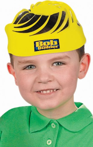 "Amscan Bob The Builder Birthday Party Hats, 8-1/4 x 12"", Yellow"