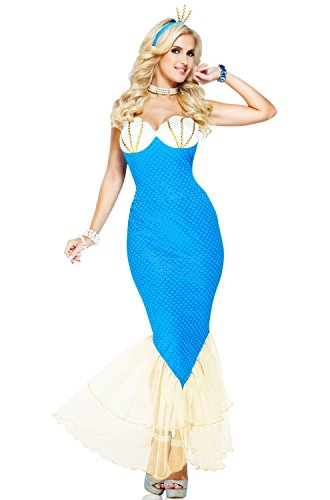 Magical Mermaid Adult Costume Size Large