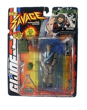 Sgt. Savage 3.75 inch Cryo-Freeze Sgt. Savage Action Figure