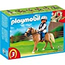 5109 Riding School Horse With Stall