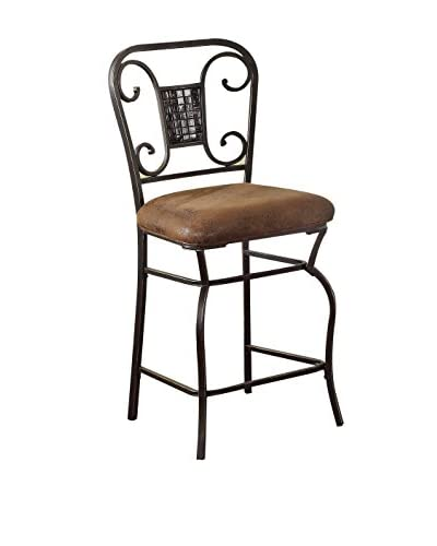 Acme Furniture Counter Height Chair, Bronze