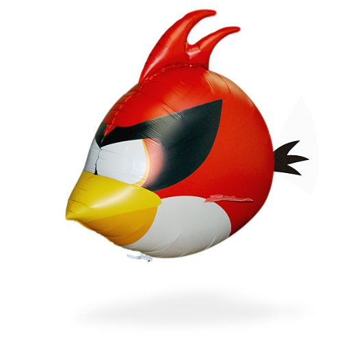bird愤怒的小鸟红色空间空气游泳涡轮遥控rc气球飞行