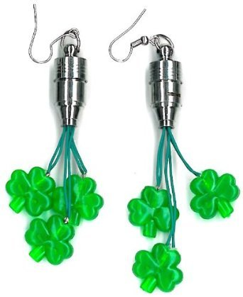 Shamrock Flashing Earrings
