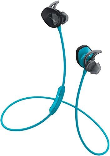 Bose ワイヤレススポーツイヤホン SoundSport 防滴仕様/Bluetooth・NFC対応/リモコン・マイク付き/通話可能 アクア SSport WLSS AQA【国内正規品】